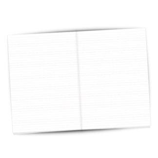 Notizen A4, 32 fein breakpoint-linierte Seiten auf extra-schwerem Papier - Bestens geeignet für Notizen, für Vokabel und alle anderen Gedanken, die zu otizen gemacht werden sollen