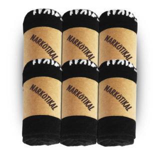 Sneaker Socken Sixpack - Auch vor vier Uhr 'ne gute Idee!