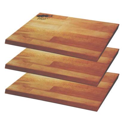 Küchenbrett Buche leicht abgewinkelte Brettkanten