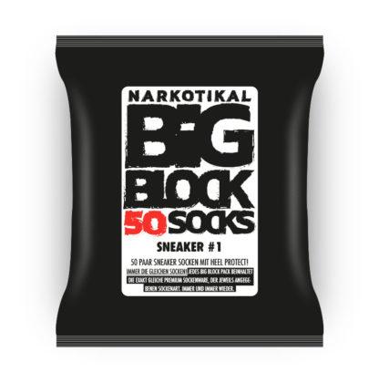 Bigblock 50 Paar Sneaker Socken, Premium Feinstrick, unschlagbar günstig, Europa