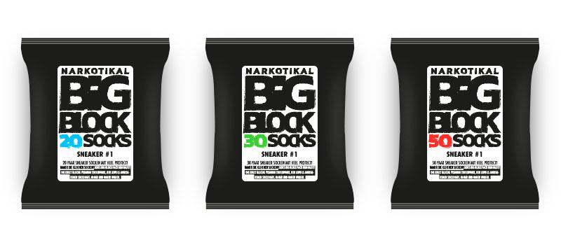 20er, 30er, 50er Pack Socken - Bigblock Sneaker Socken, Premium Feinstrick, unschlagbar günstig, Europa
